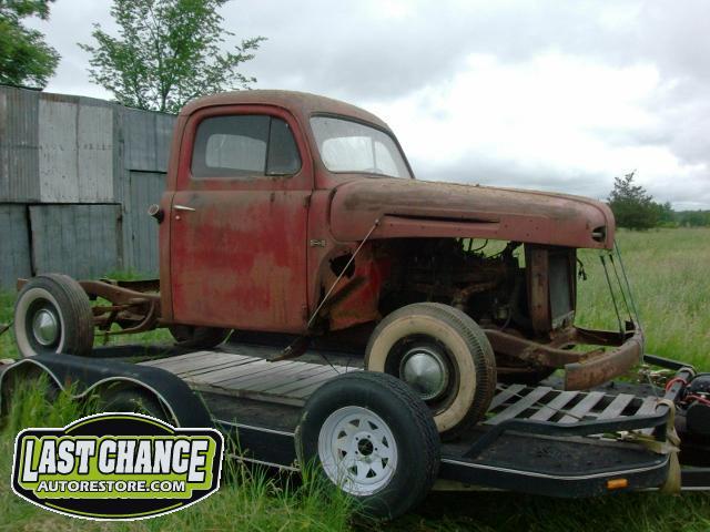 Tru Auto Sales >> 1950 Ford F1 Shortbed - Last Chance Auto Restore