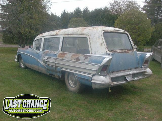 1958 Buick Ambulance - Last Chance Auto Restore